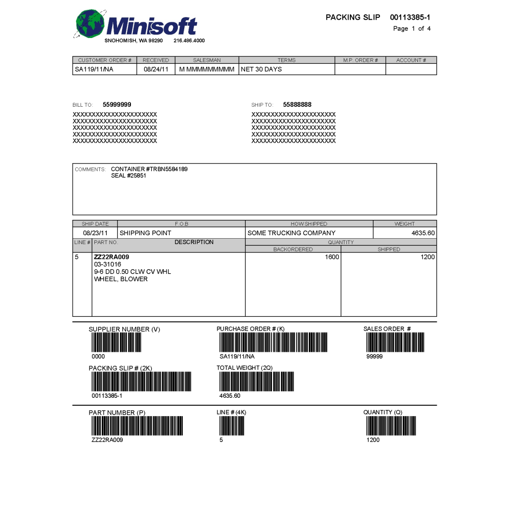 eformz forms library minisoft inc